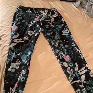 Floral slacks